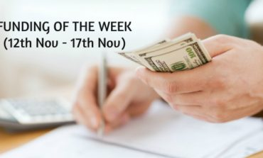 Top Five Funding of the Week (12th Nov - 17th Nov)