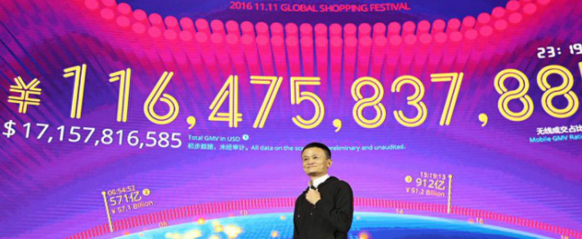 Alibaba Settles $9.92 Billion in the First Hour of its Annual Singles' Day