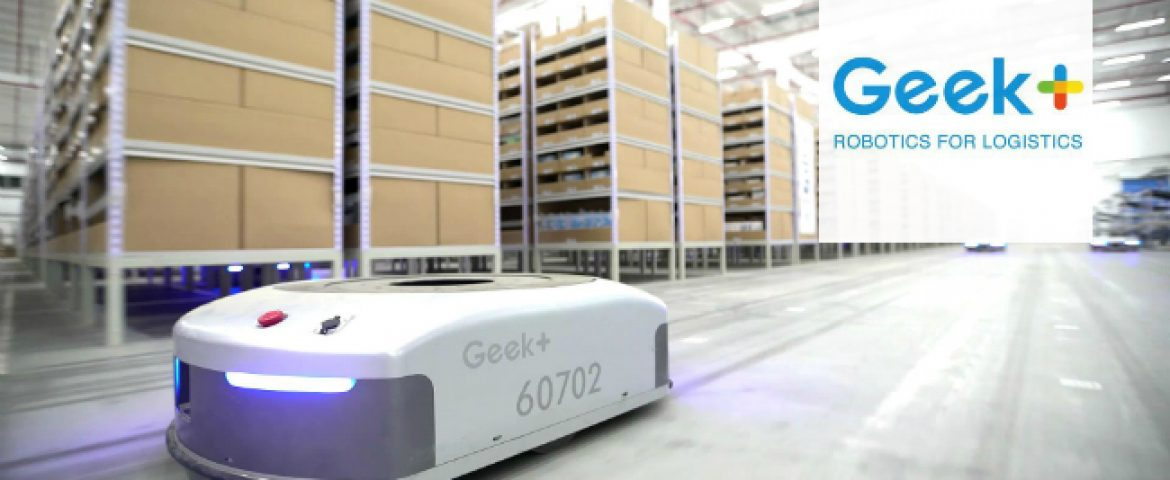 Robotics Startup Geek+ Raises $150 Million in Series B Funding