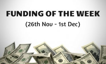 Top Five Funding of the Week (26th Nov - 1st Dec)
