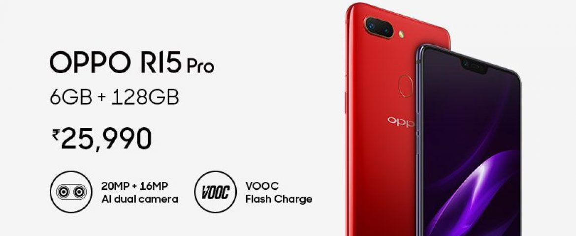 With AI Enabled Camera, OPPO R15 Pro Launches in India