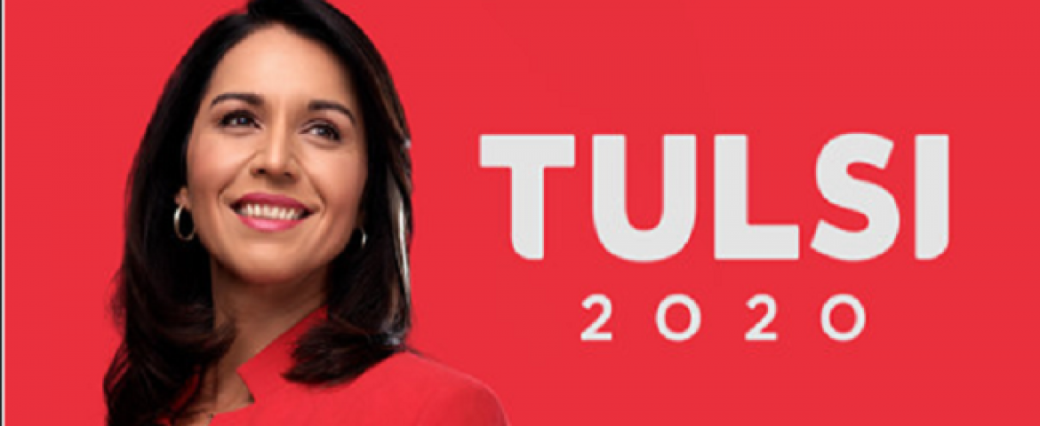 US Presidential Candidate Tulsi Gabbard sues Google for USD 50 million