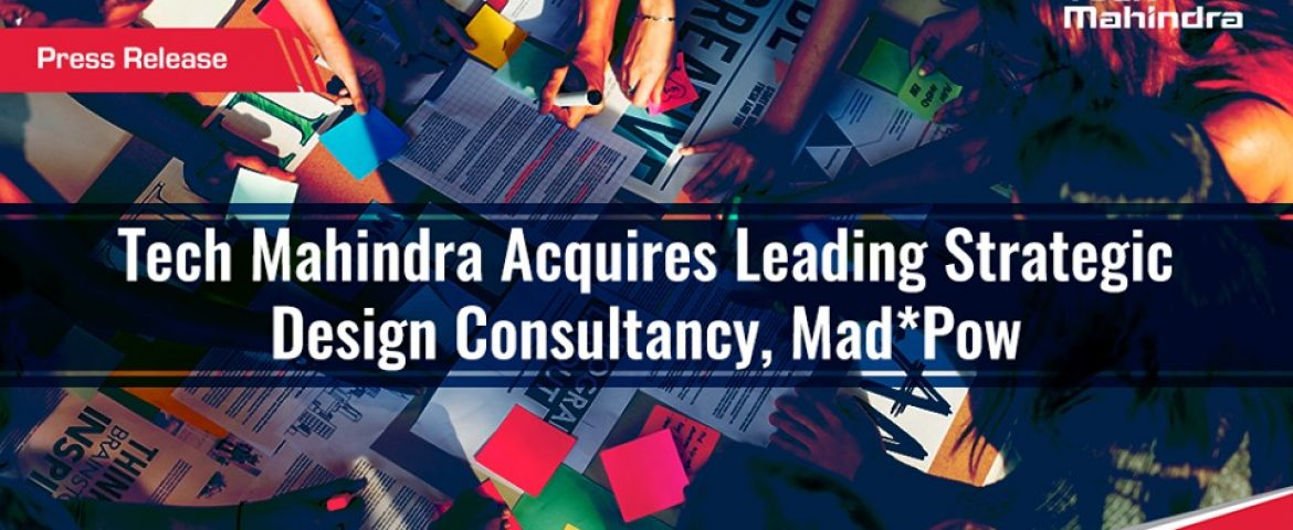 Tech Mahindra Acquire 65% Stake of US Design Firm For $70 mn