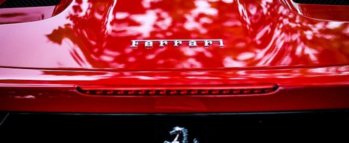 Ferrari Collaborates with Armani over Merchandise, Entertainment & others