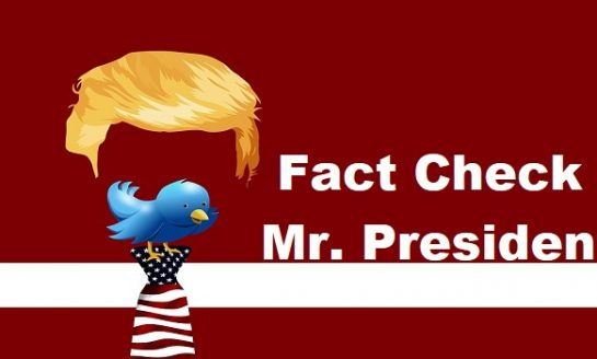 Twitter adds fact check warnings to President Trump's tweets
