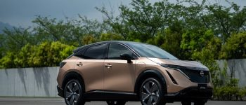 """Nissan Launched its First Electric SUV """"The Ariya"""""""
