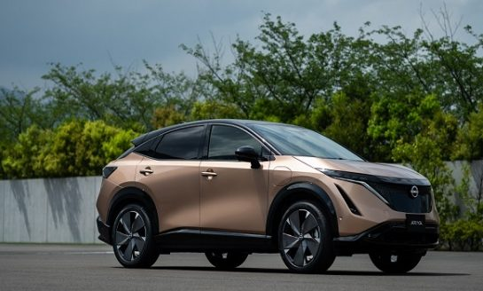 "Nissan Launched its First Electric SUV ""The Ariya"""