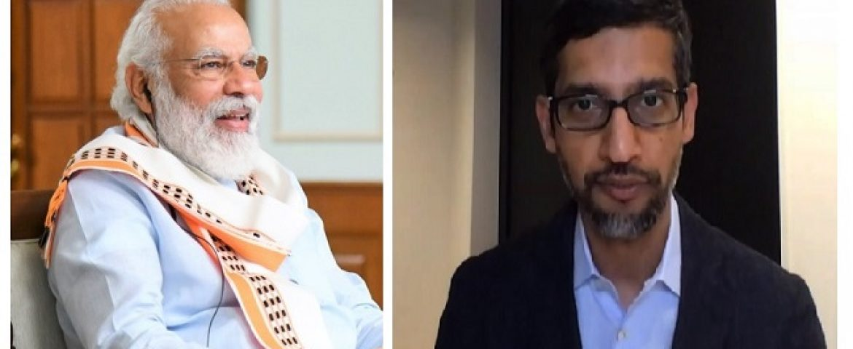 Google to Invest $10 billion in India: Sundar Pichai