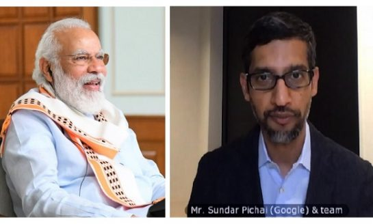 Google to Invest $10 billion in India: Sundar Pichai