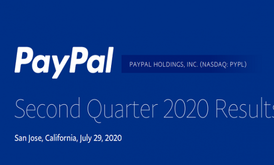 PayPal Posts Record Profit and Net Active Accounts in Q2 2020 Results