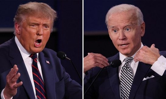 Trump vs Biden: The First US Presidential debate 2020