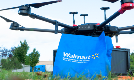 Walmart drone delivery testing in North Carolina city
