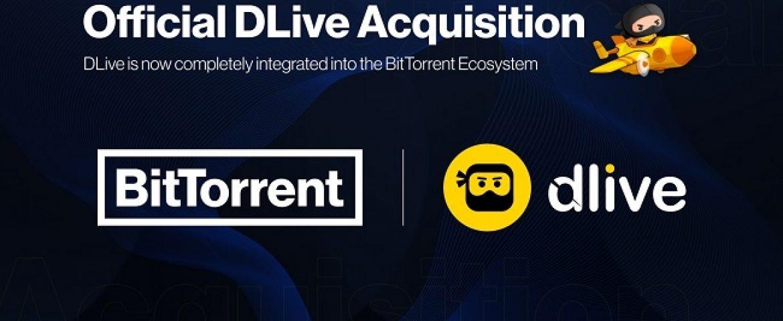 BitTorrent acquire DLive, Launched BitTorrent X Ecosystem