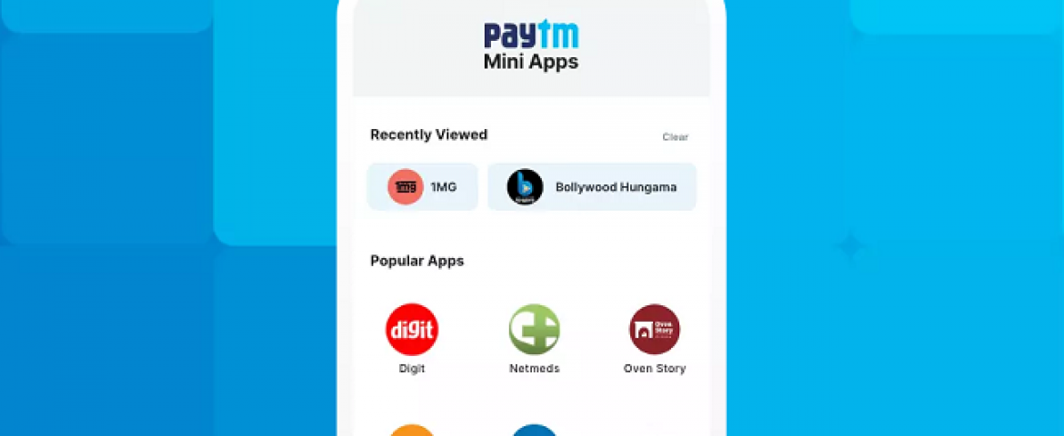 Paytm Launches its Own App Mini Store after Google Hit