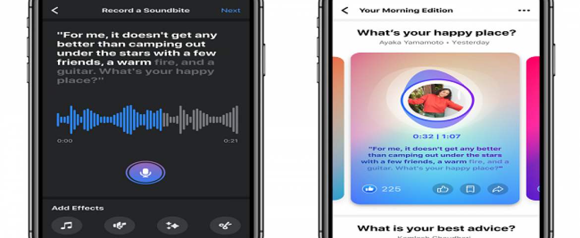 Facebook launches Clubhouse like Podcasts & Live Audio Service
