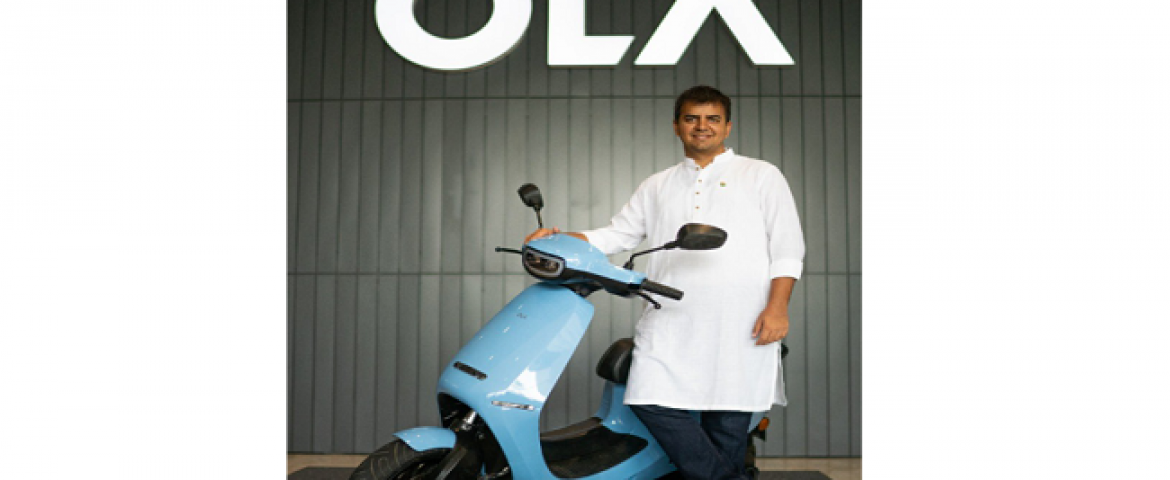 Ola Sold Electric Scooters Close to $100 Million on a First day