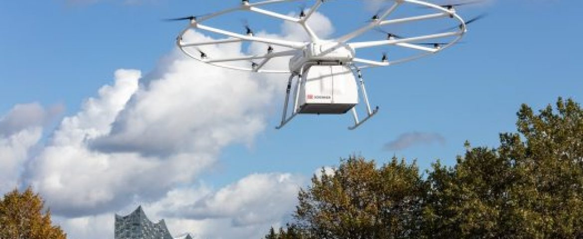 First Successful Flight of Volocopter's VoloDrone