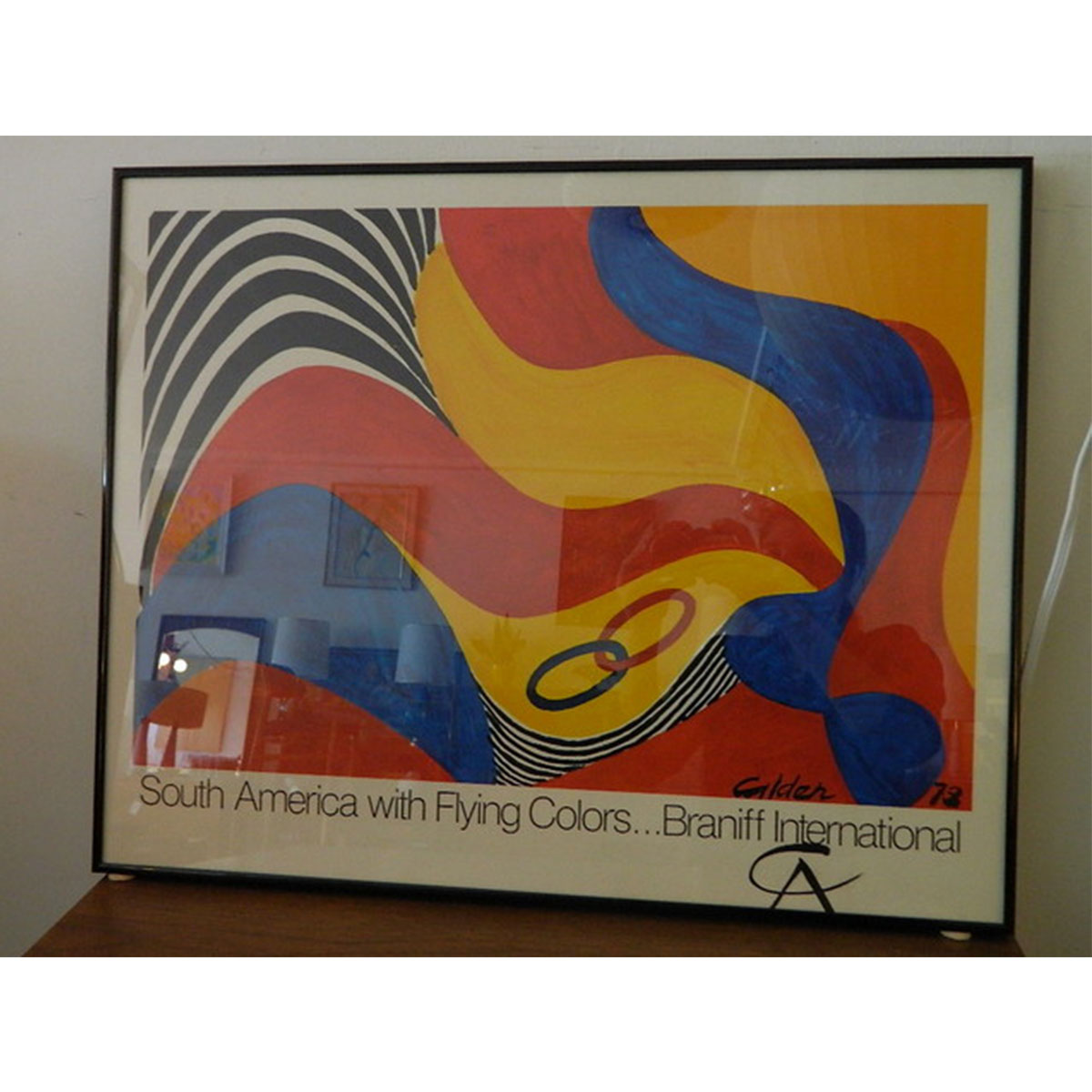 Alexander Calder – Braniff International Print