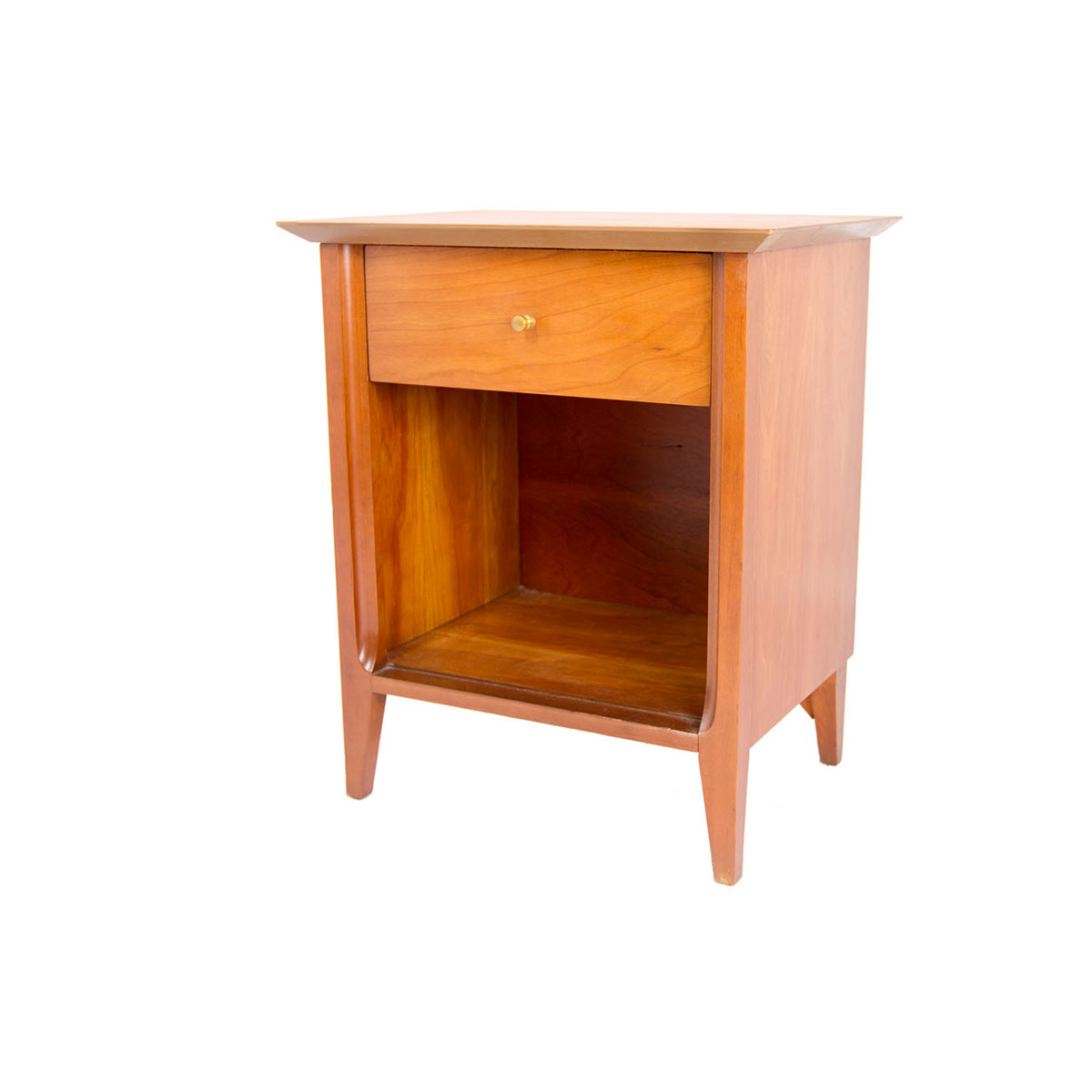 Pair of Tall & Thin MCM End Tables/Nightstands