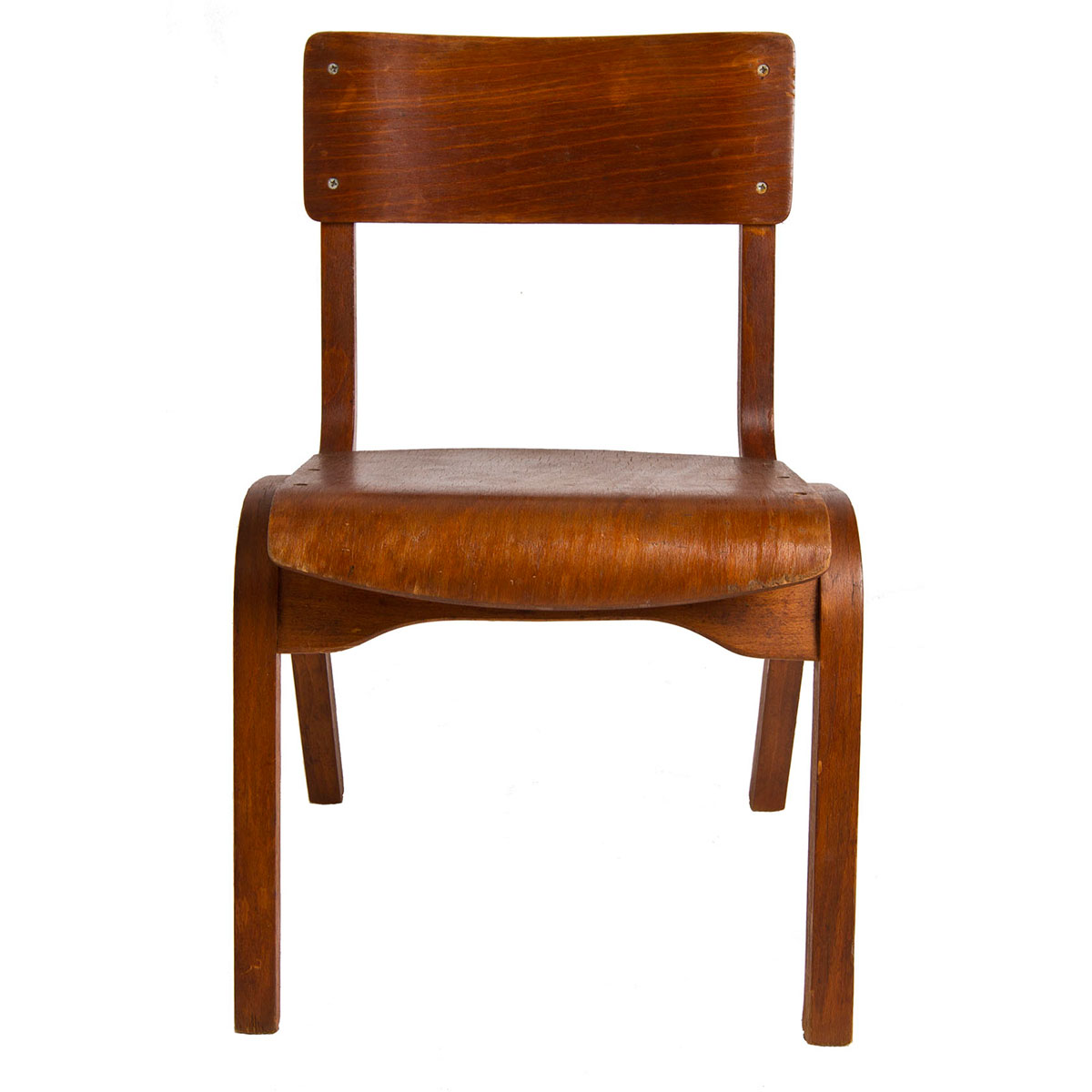 """Child's American Modernist """"Start-Them-Young"""" Chair"""