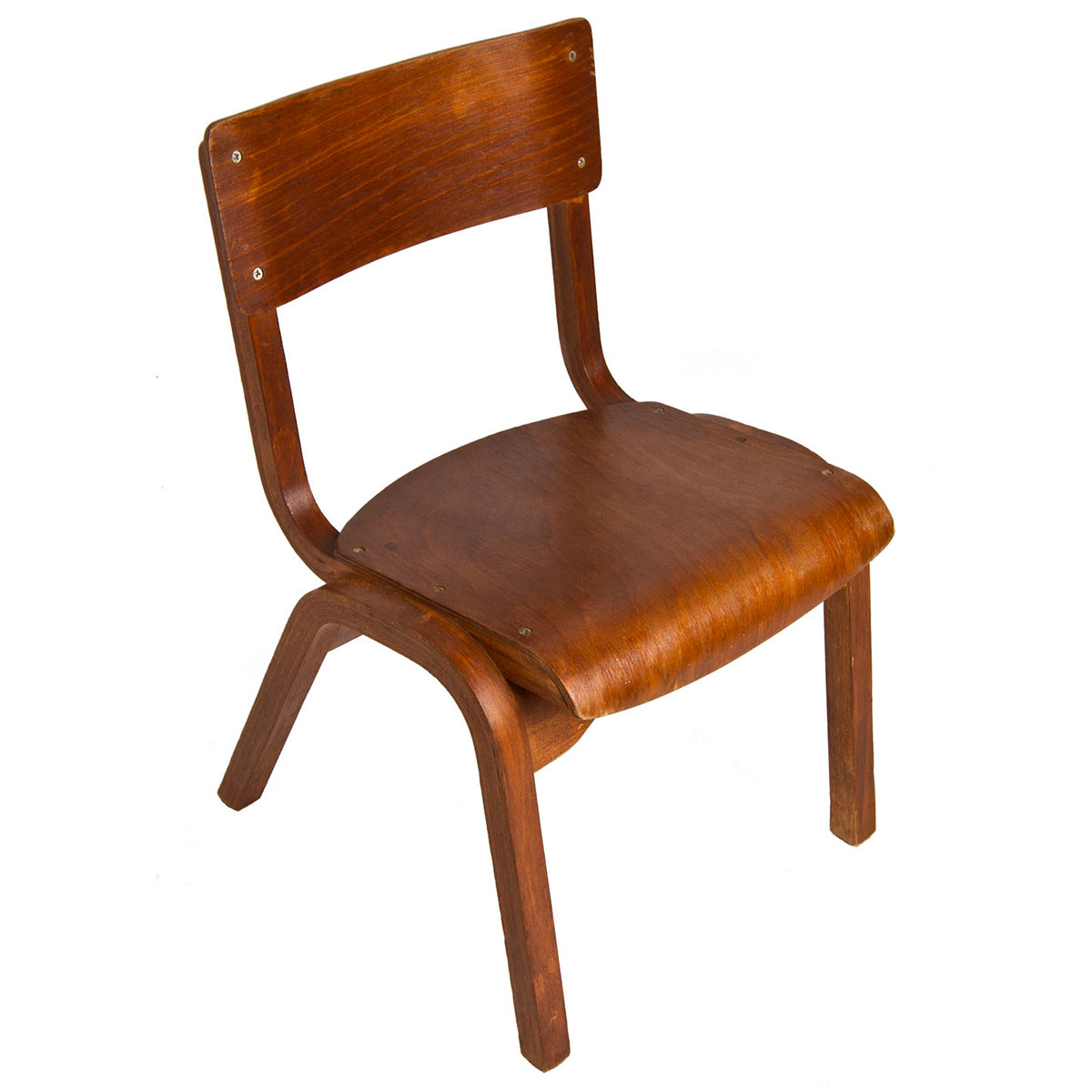"Child's American Modernist ""Start-Them-Young"" Chair"
