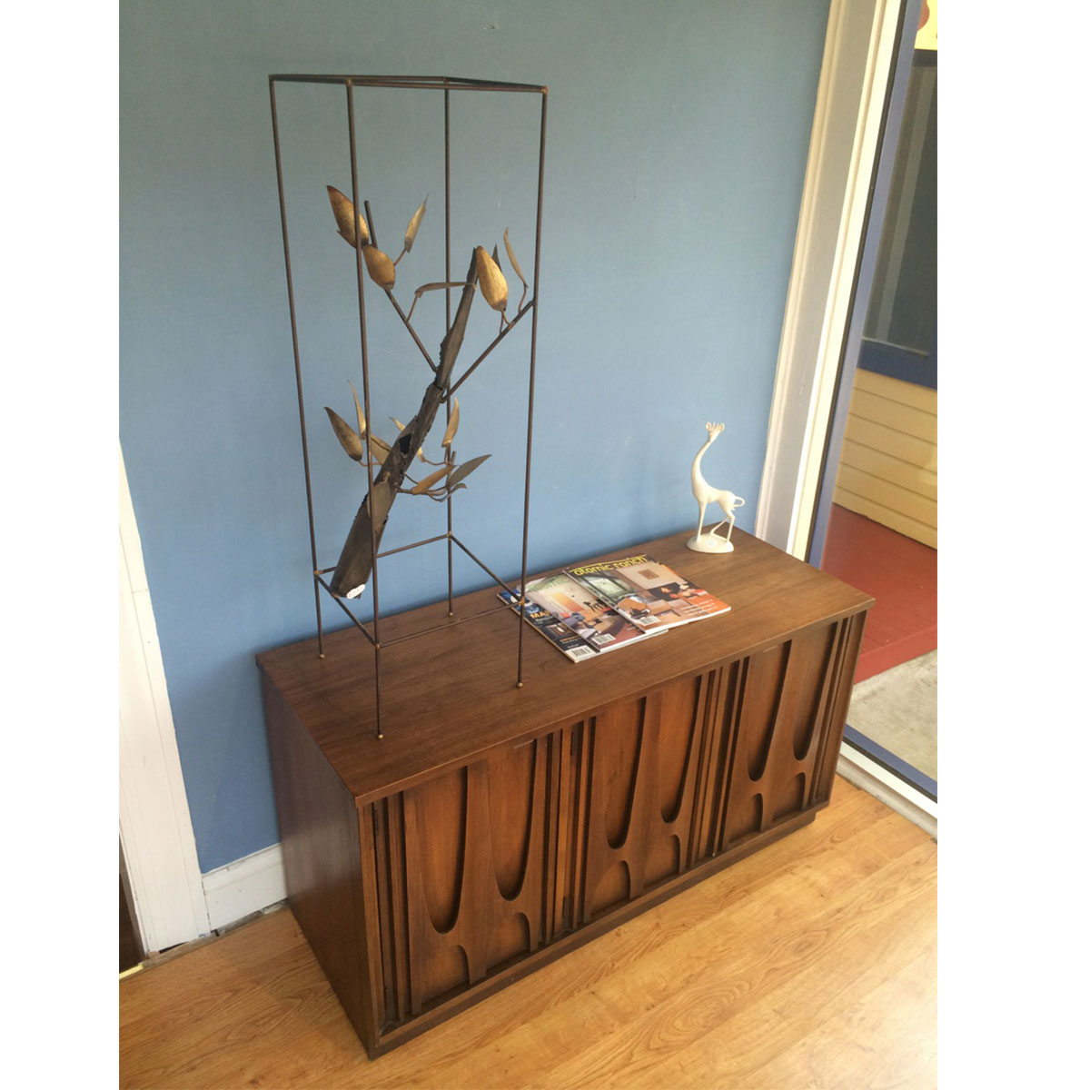 Large Mid Century Tree Branch Jere Style Sculpture