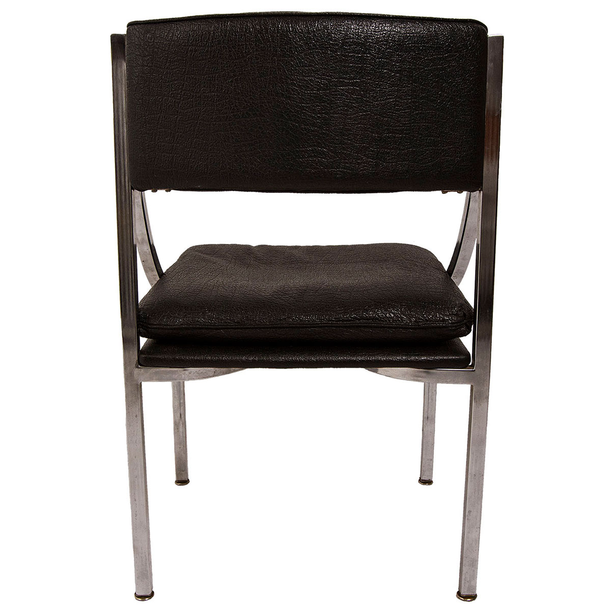 Mid Century 'Swooping' Chrome Chair