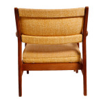 Jens Risom Walnut Club Chair