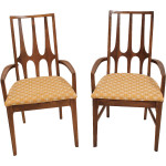 Mid Century Brasilia Walnut Dining Chairs