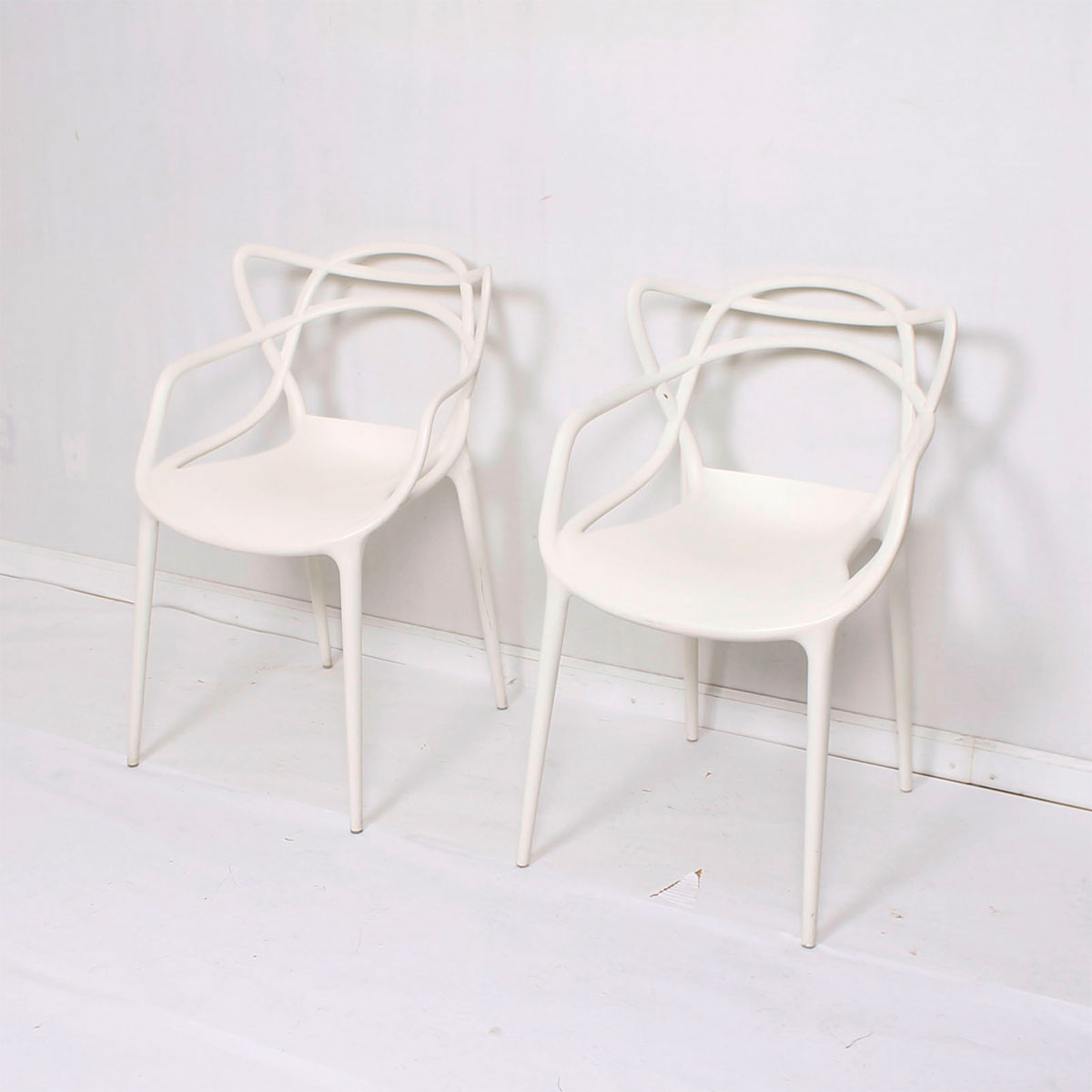 Pair of Kartell Masters Chairs
