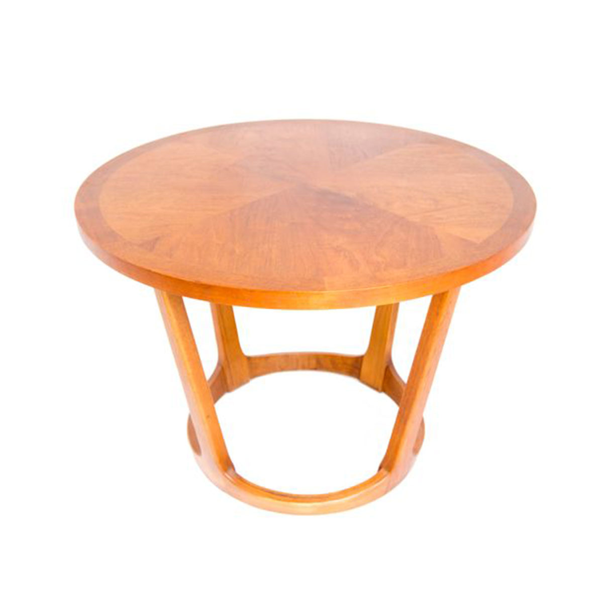 Round Mid Century Modern Coffee / Side Table