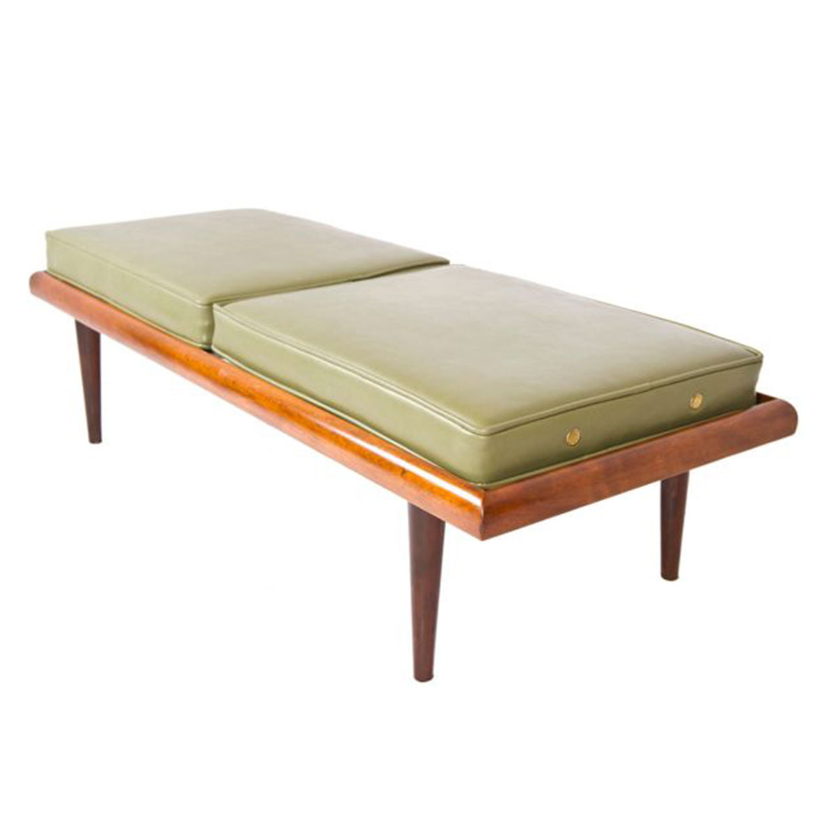 Mid Century Modern Bench – Low Coffee Table