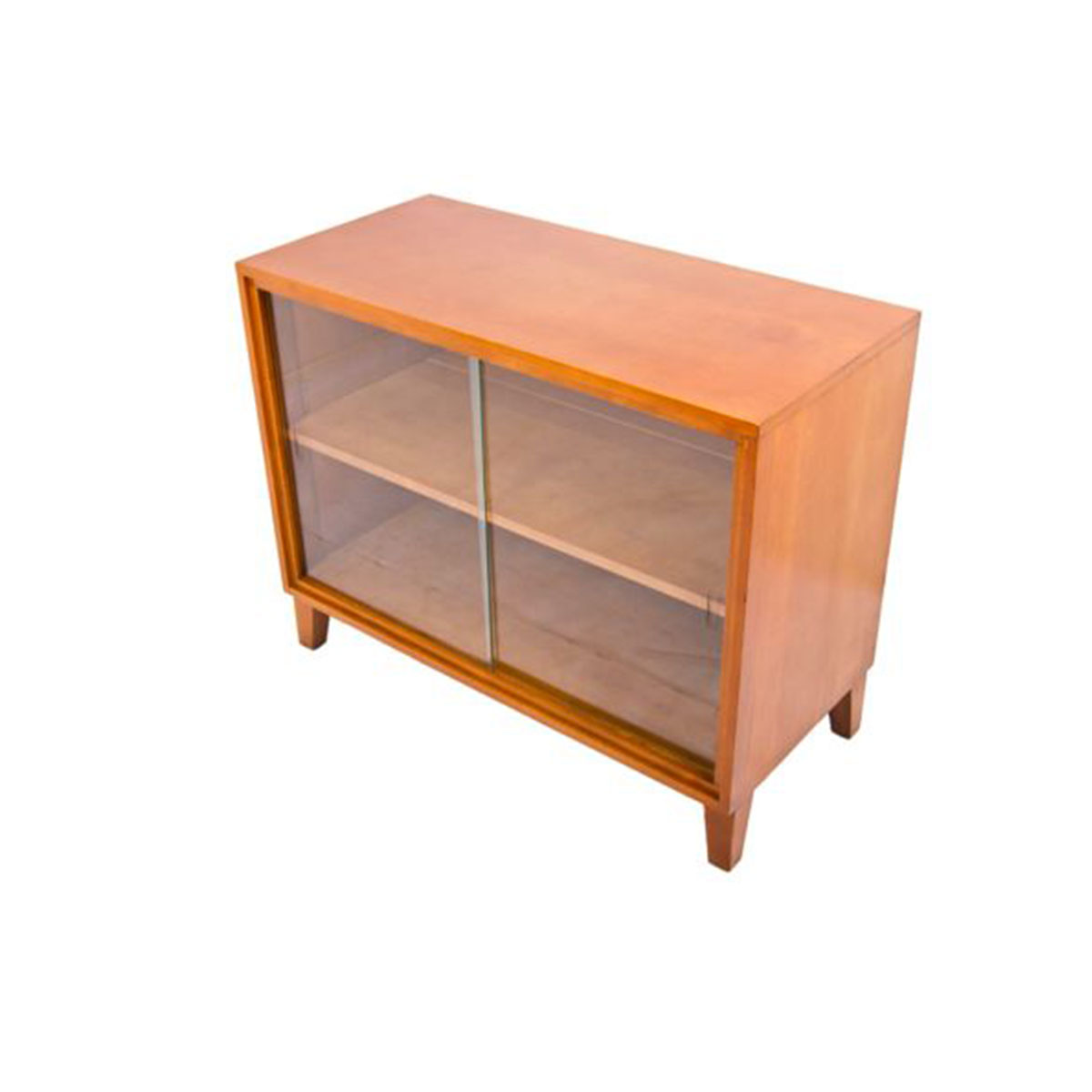 Conant Ball Maple Display / Media Cabinet