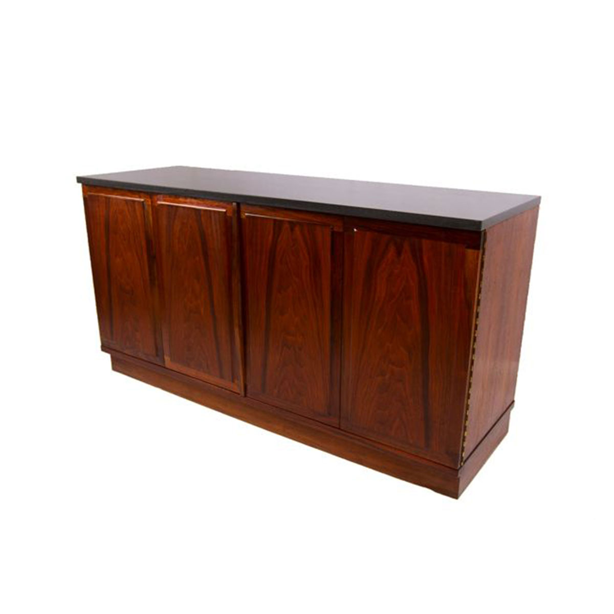 FOSTER MCDAVID Bar – Media Cabinet with Soapstone Top
