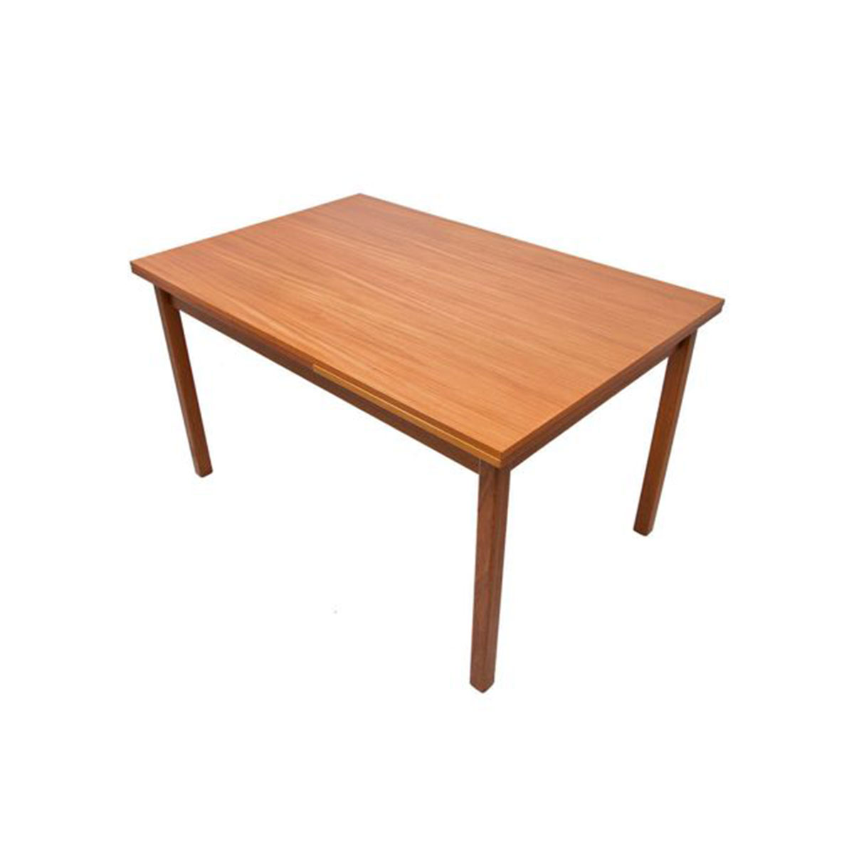 Compact Expanding Teak Dining Table