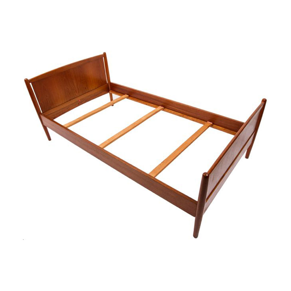 Dyrlund Danish Modern Teak Twin Bed
