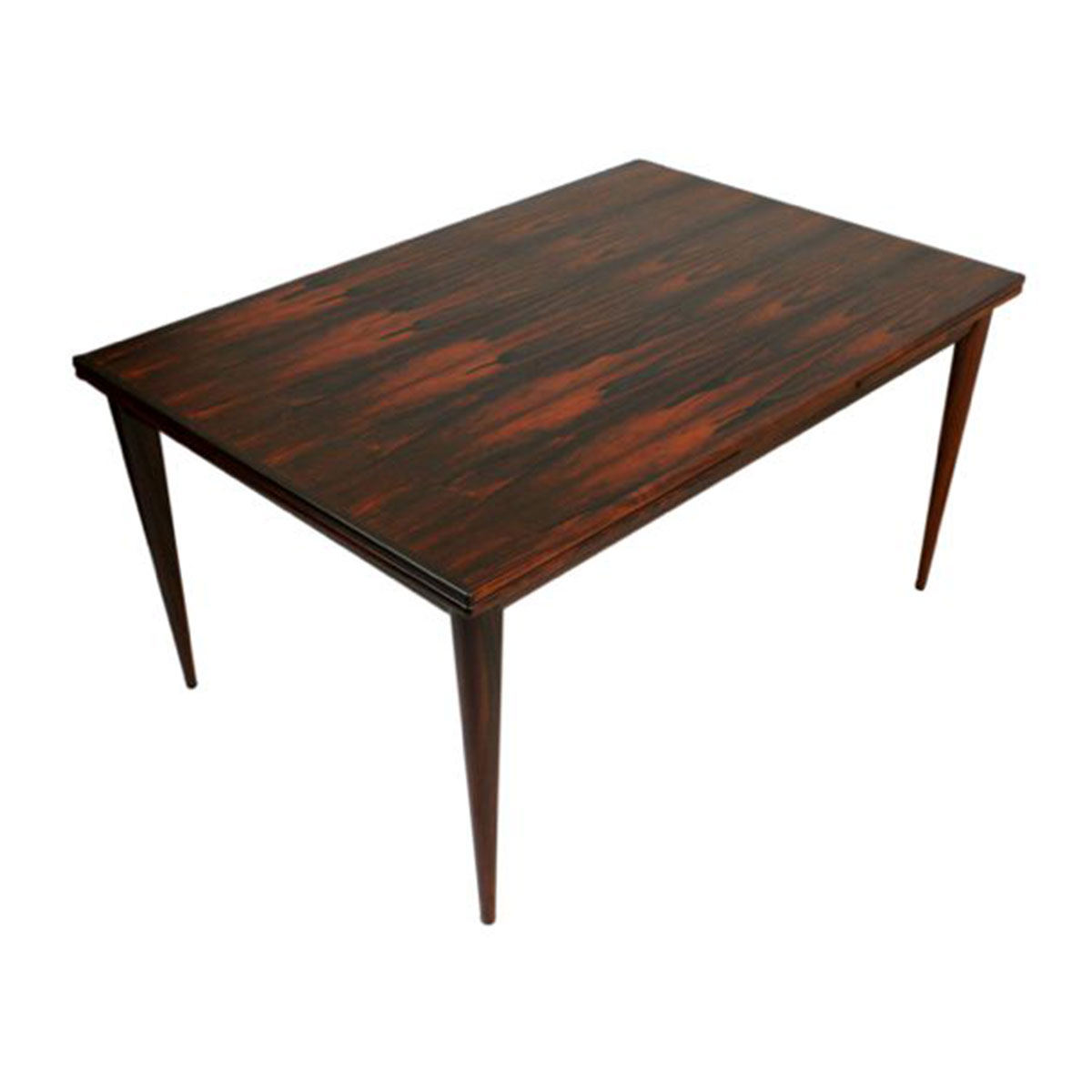 Niels O. Moller Danish Modern Rosewood Expanding Dining Table