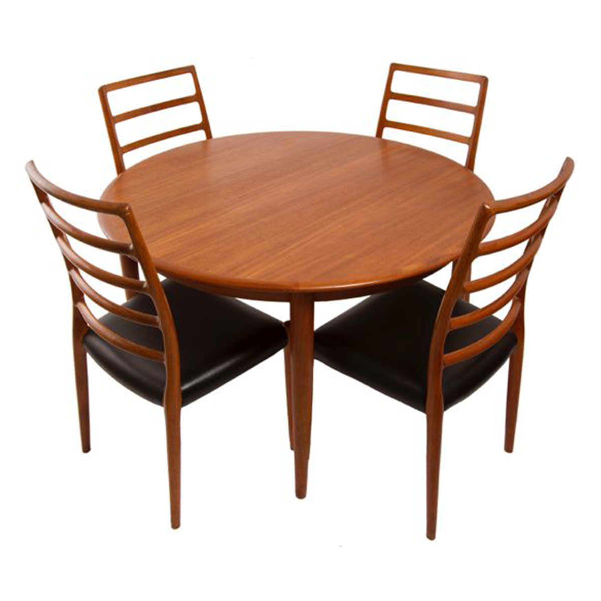 MOREDDI Danish Modern Teak Dining Table