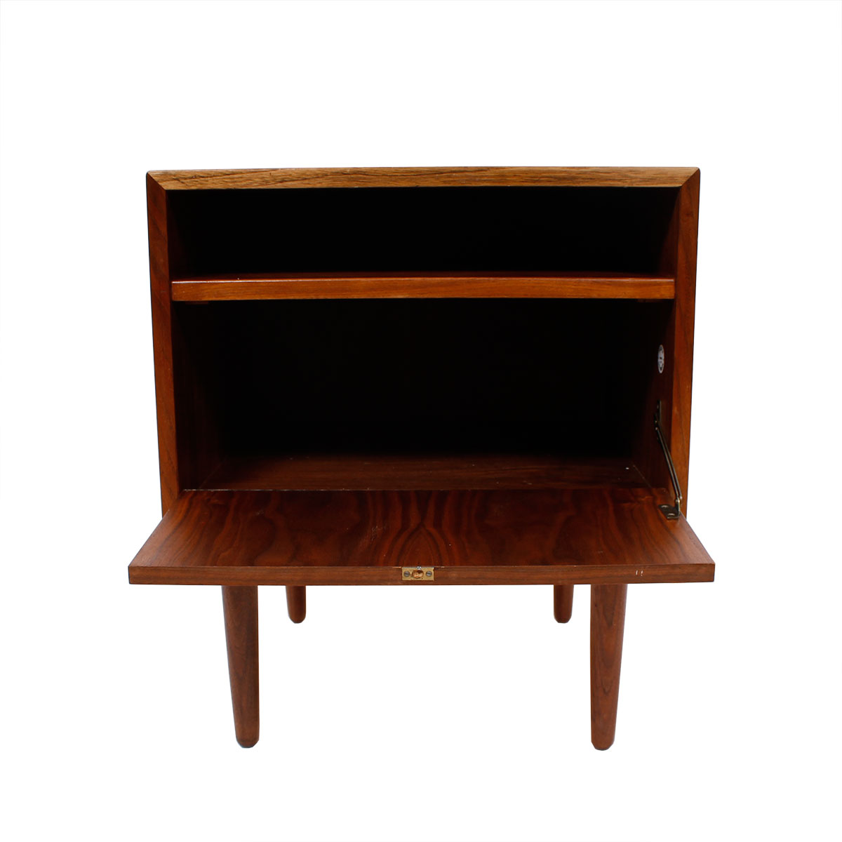 Walnut Danish Modern Accent Table – Night Stand by Falster