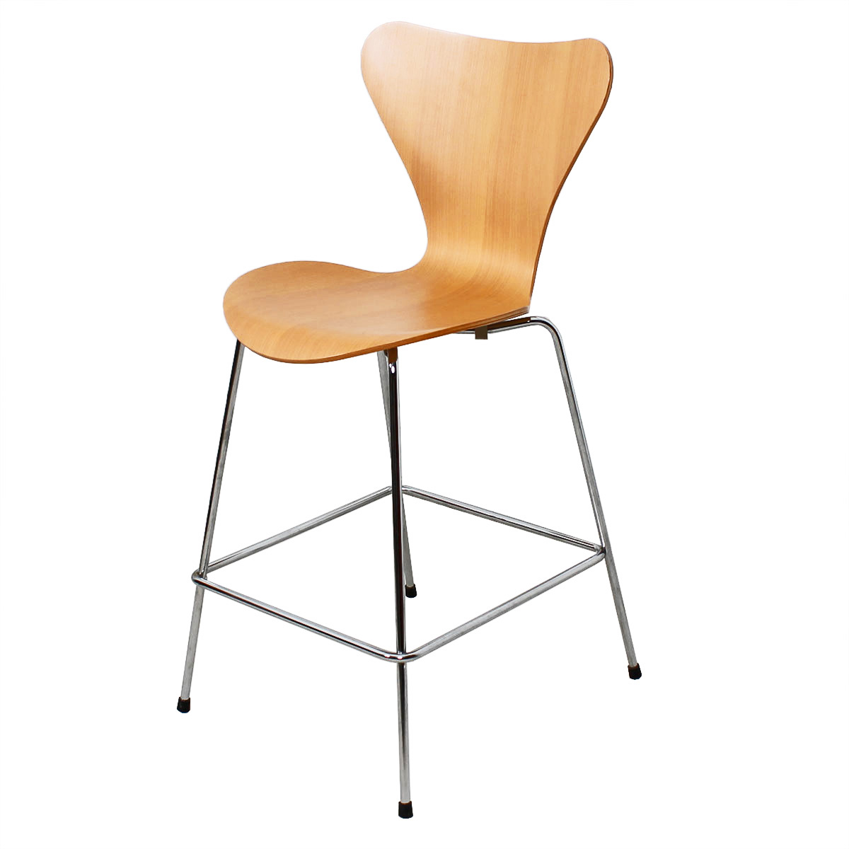 Arne Jacobsen for Fritz Hansen Series 7 Counter Stool