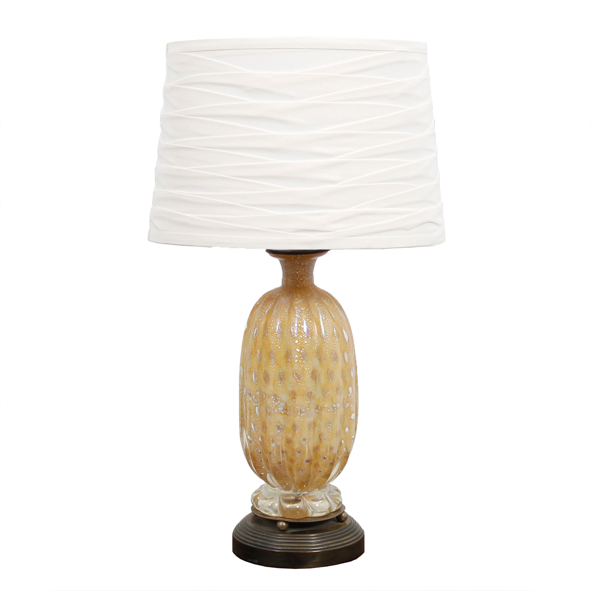 Barovier Toso Murano Glass Table Lamp