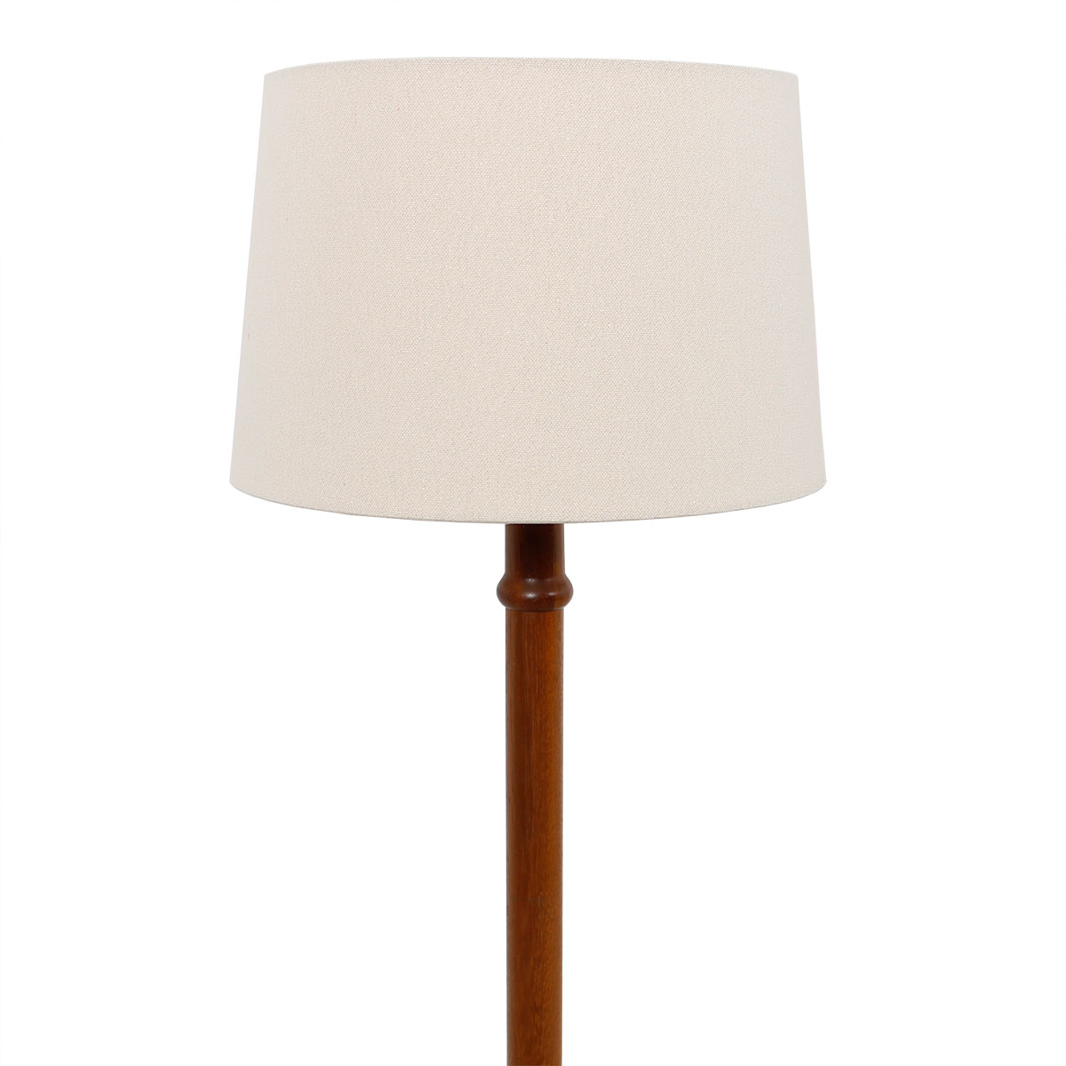 Danish Modern Teak 'Ribbed' Floor Lamp