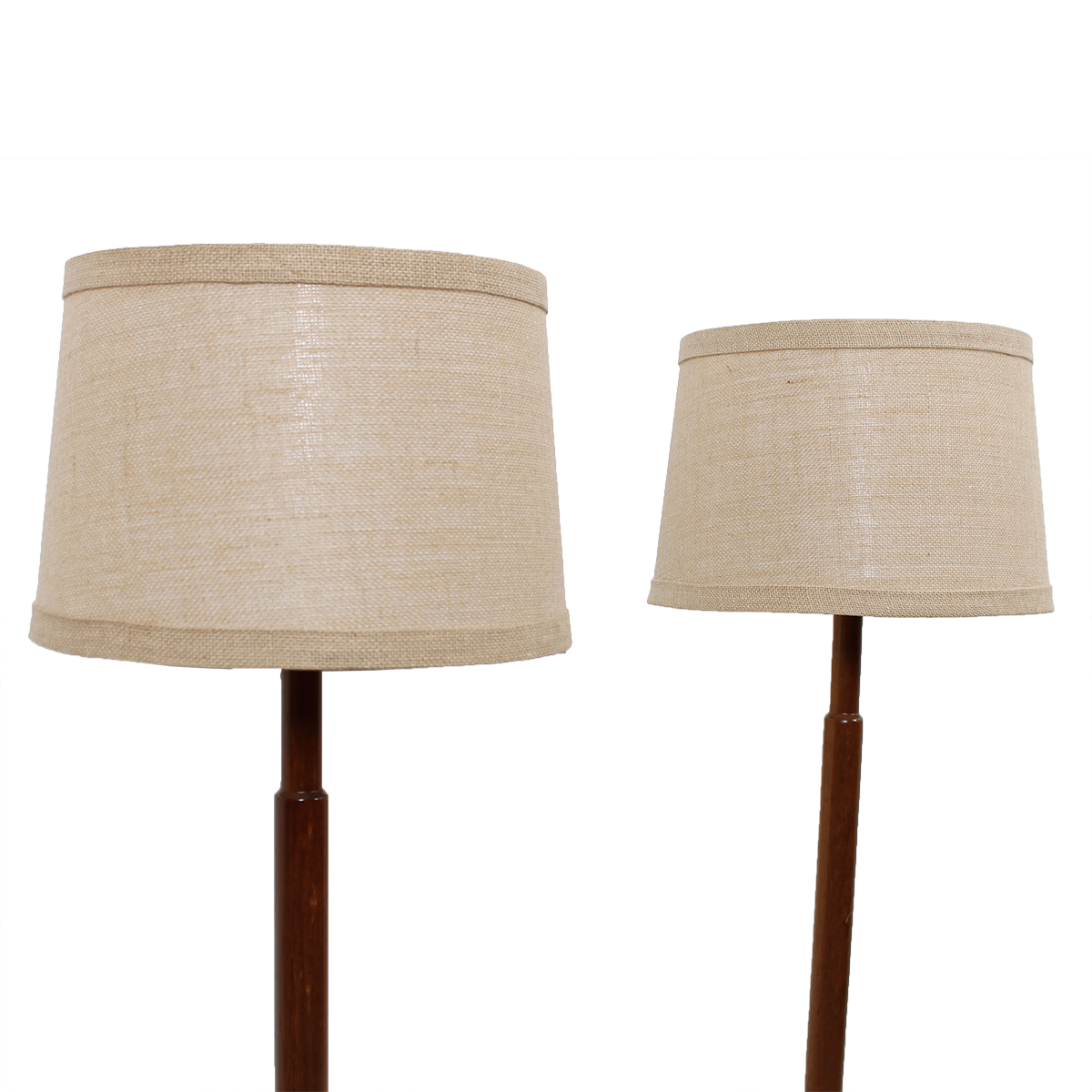 Pair of Martz – Marshall Studios Wood Floor Lamps