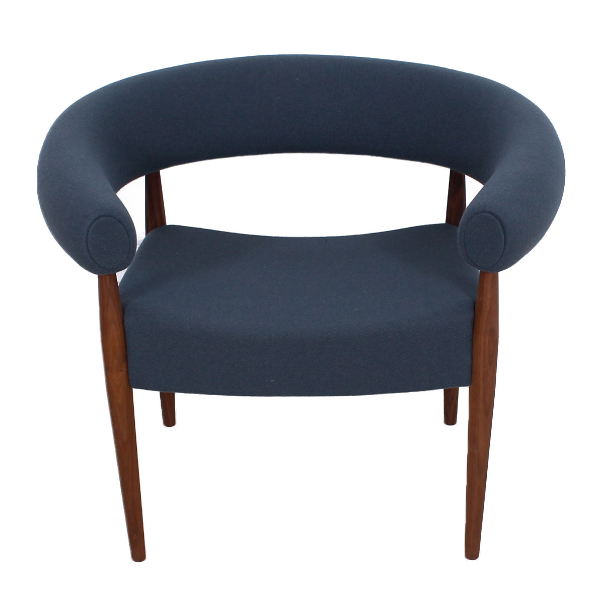 "NEW Danish Modern Nanna Ditzel ""Ring"" / ""Sausage"" Chair"