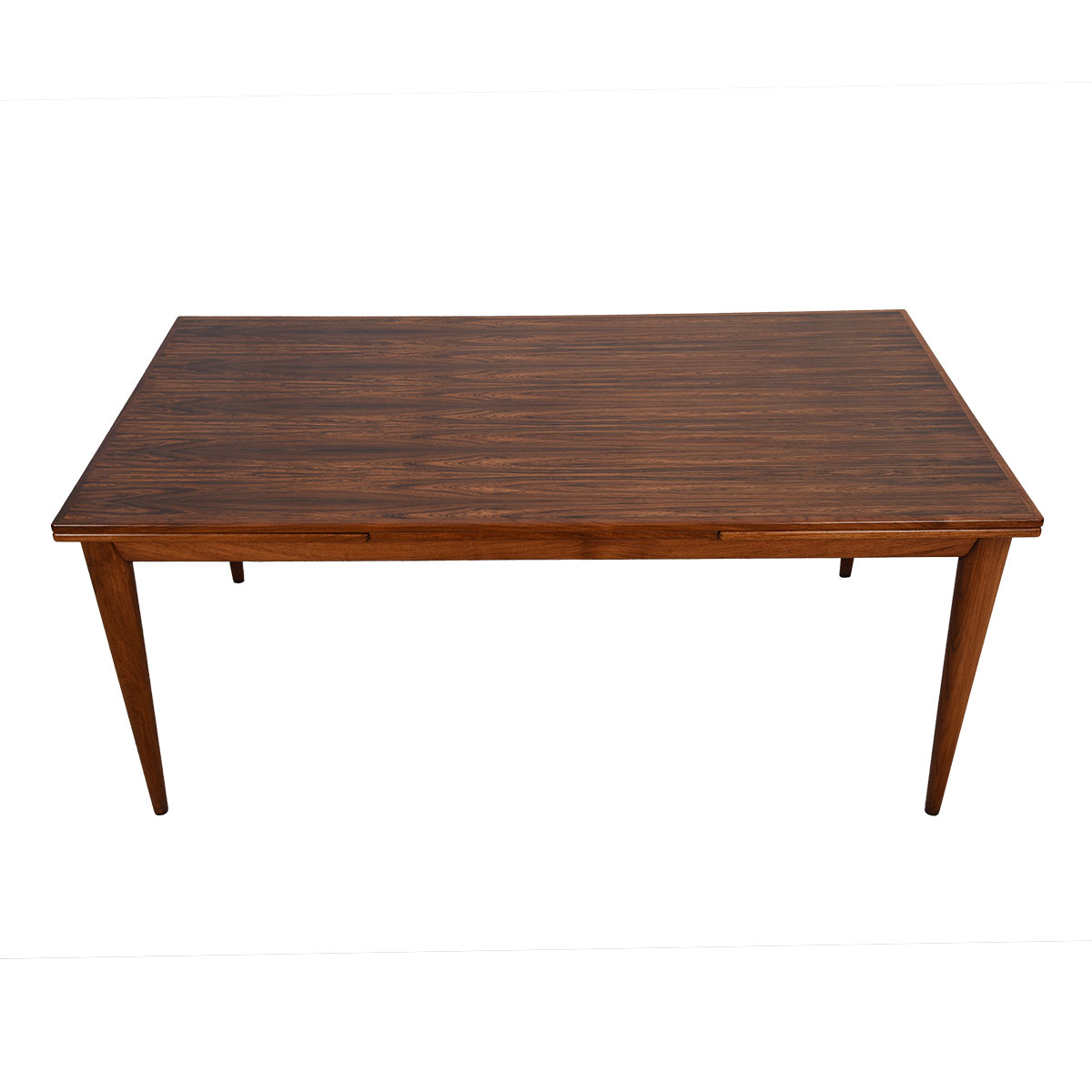 Danish Modern Rosewood Colossal Dining Table