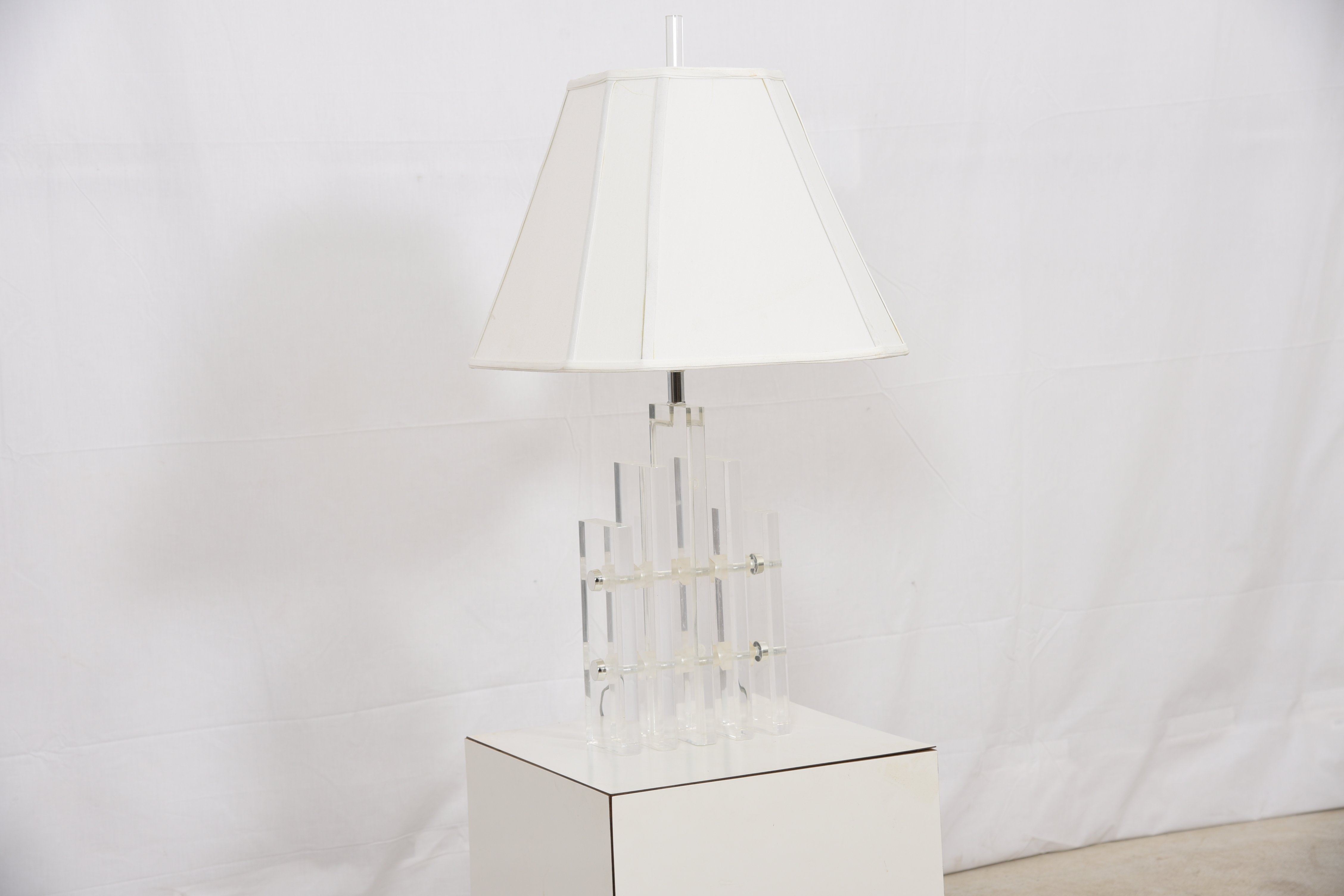MCM Lucite Table Lamp