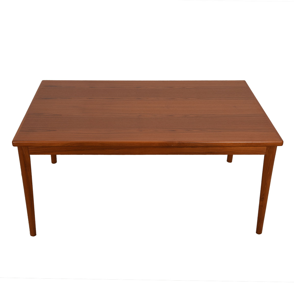 Mid-Sized to Large Danish Modern Teak Expanding Dining Table