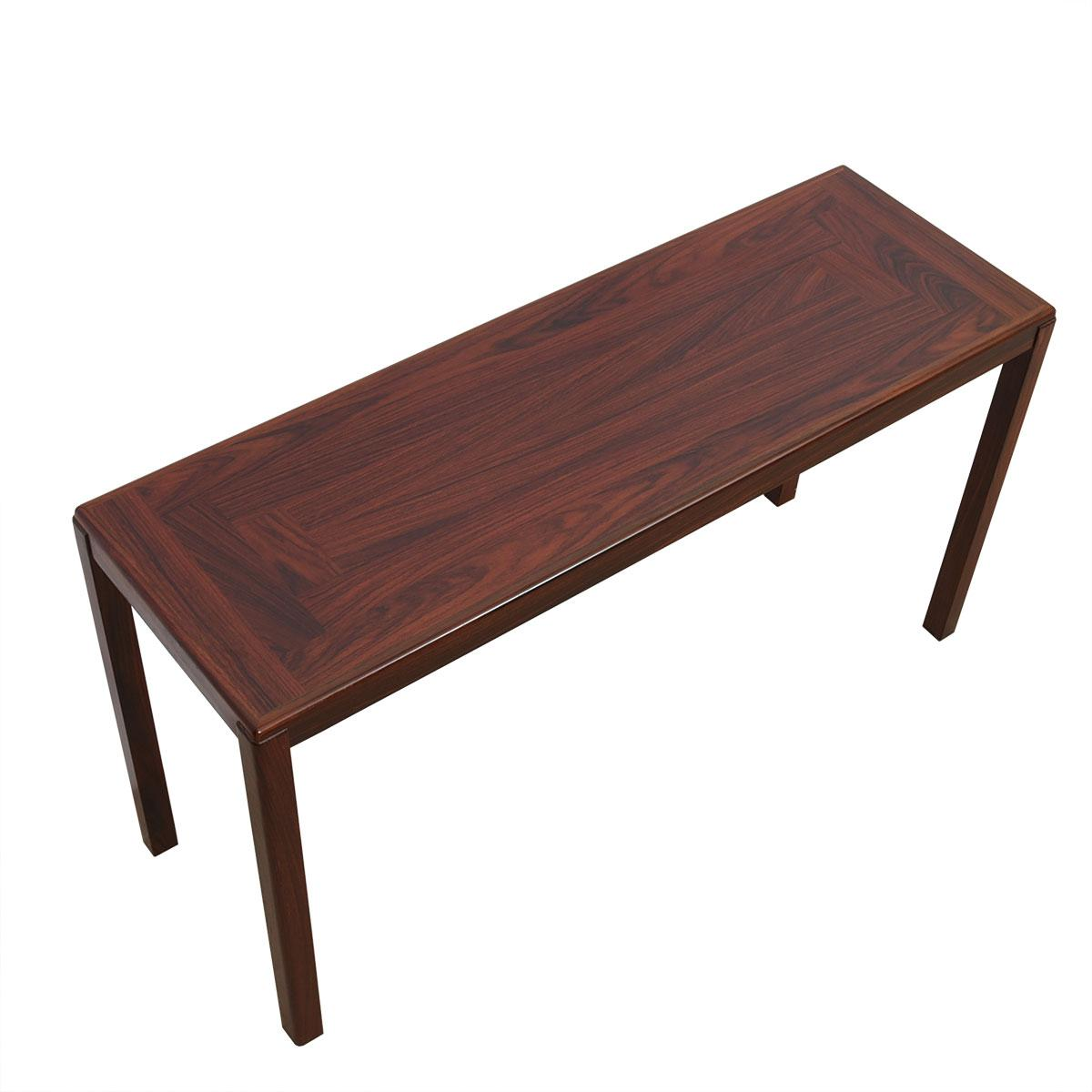 Danish Modern Rosewood Desk / Console / Sofa Table