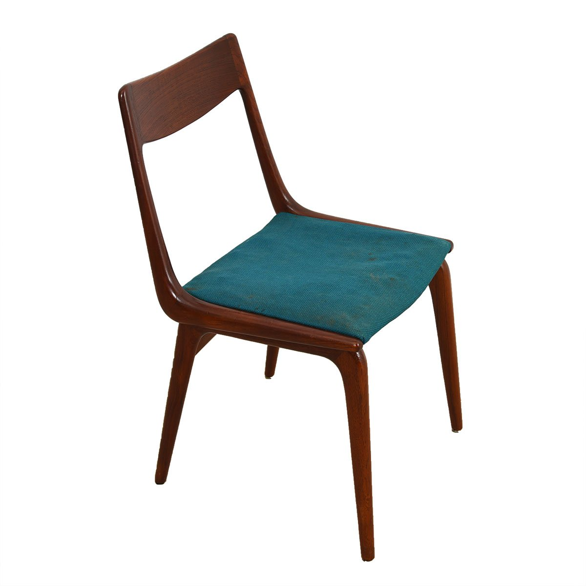 Boomerang Danish Dining Chairs – Set of 4 by Alfred Christensen.