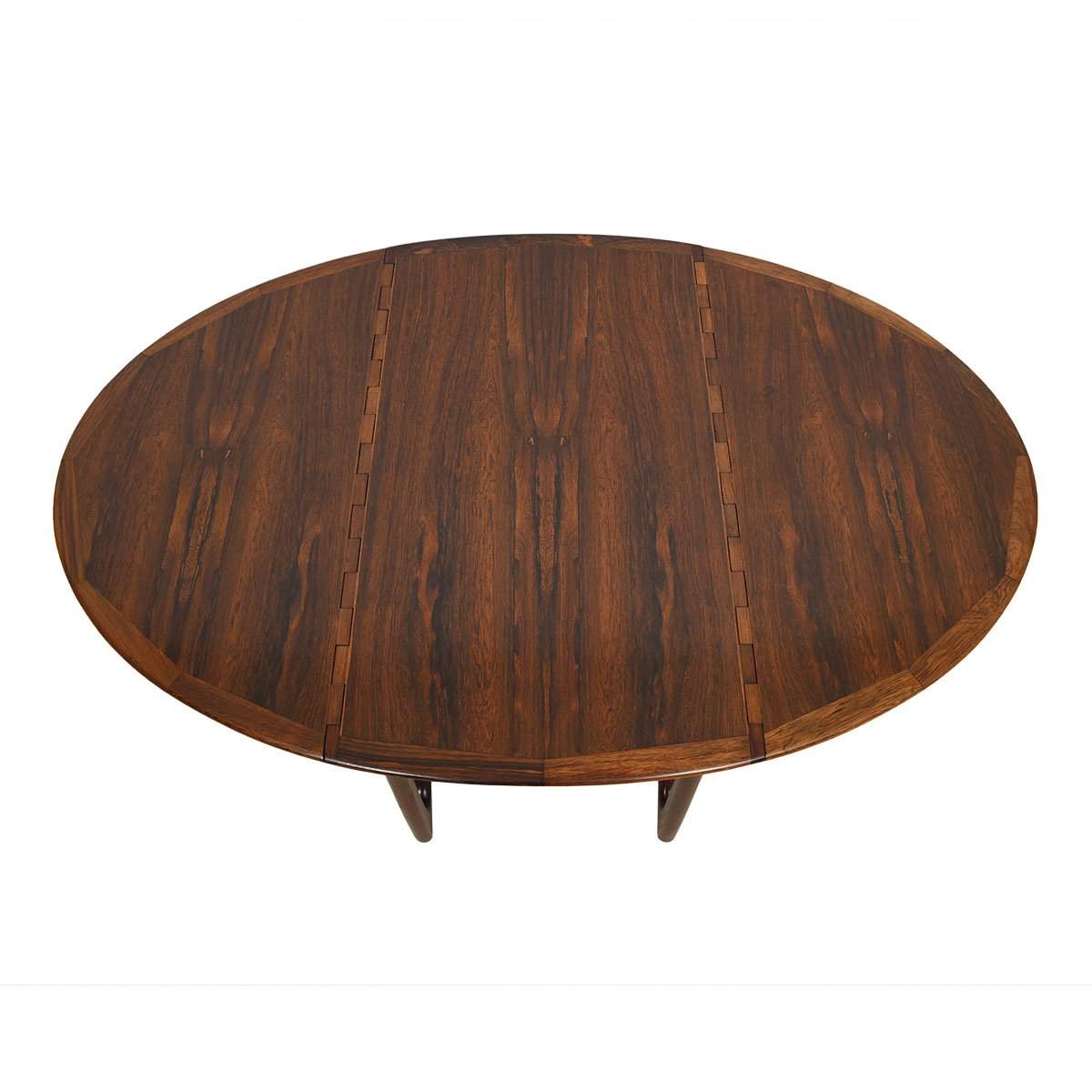 Kurt Ostervig Rosewood Gateleg Expanding Dining Table